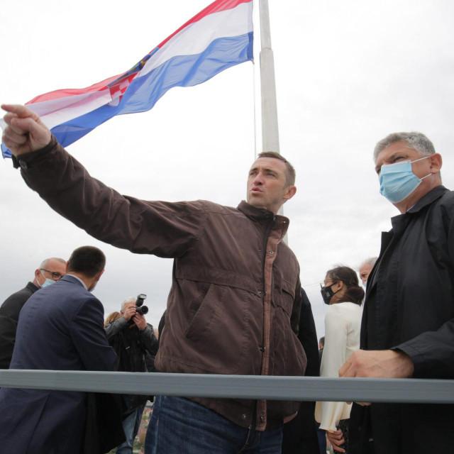 Ivan Penava na vukovarskom Vodotornju