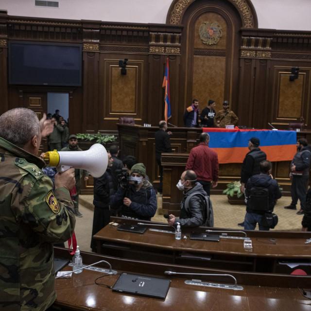 Prosvjed u Armeniji