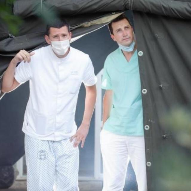 anesteziolozi dr. Nikola Delić i dr. Toni Kljaković Gašpić