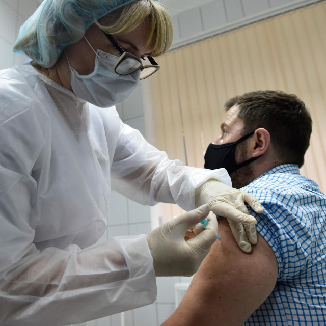 Cijepljenje u klinici u Moskvi