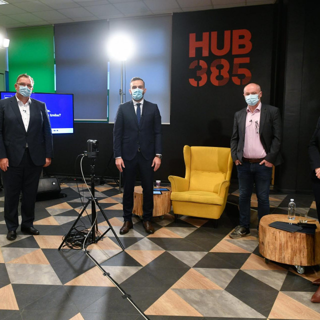 Ivan Skender, Željko Škorić, Josip Aladrović, Gojko Drljača i Vladimira Senčar Perkov.