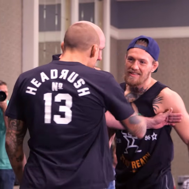 Conor McGregor i Dustin Poirier