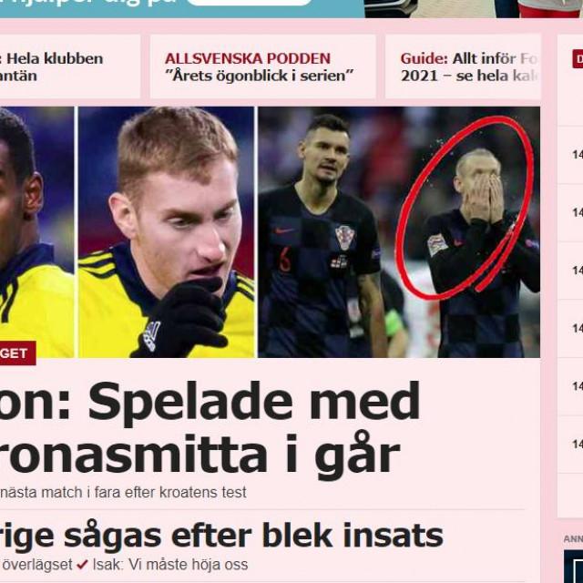 Sportbladet naslovnica
