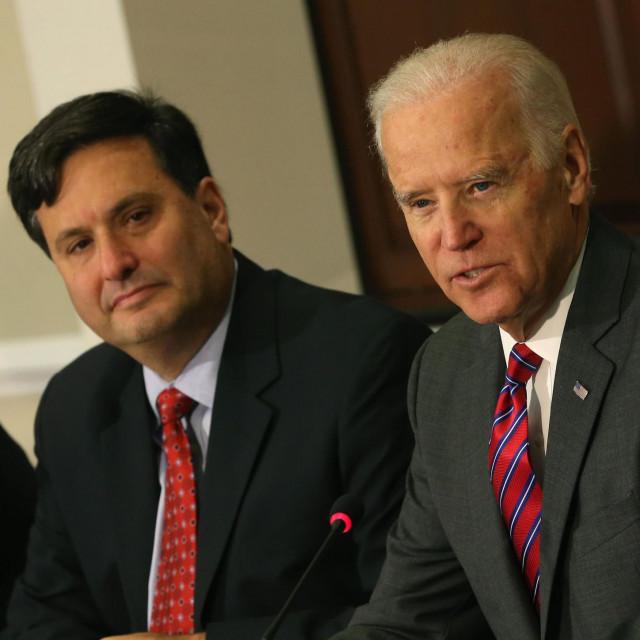 Ron Klain i Joe Biden