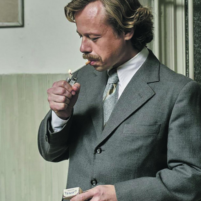 Viktor Dvořák kao Vaclav Havel