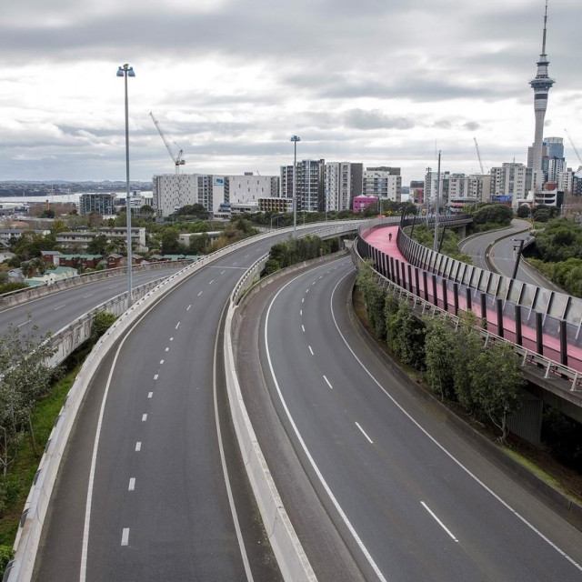 Napušteni Auckland u vrijeme prve karantene