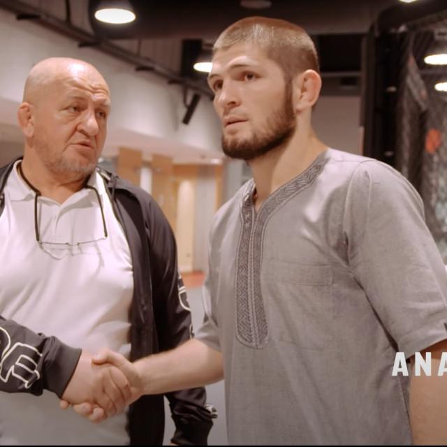Abdulmanap i Khabib Nurmagomedov