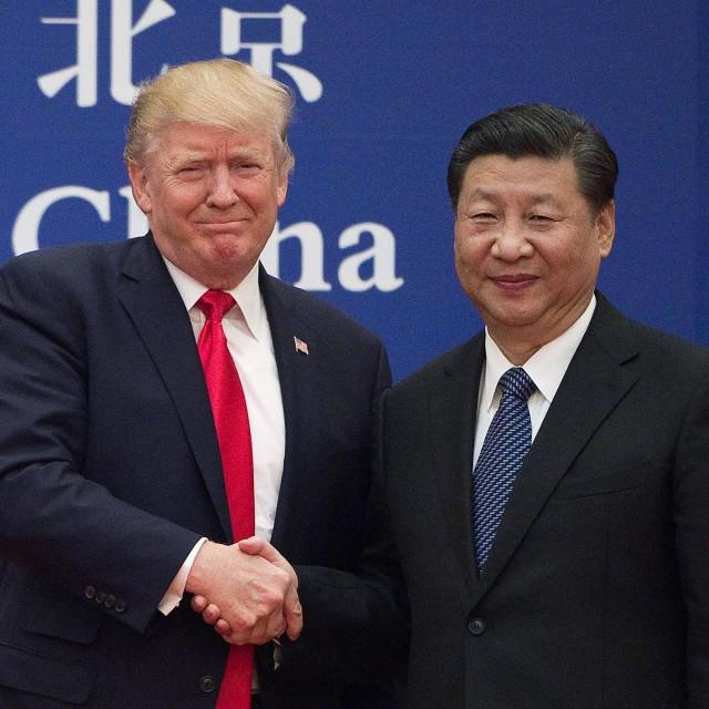Donald Trump i kineski predsjednik Xi Jinping