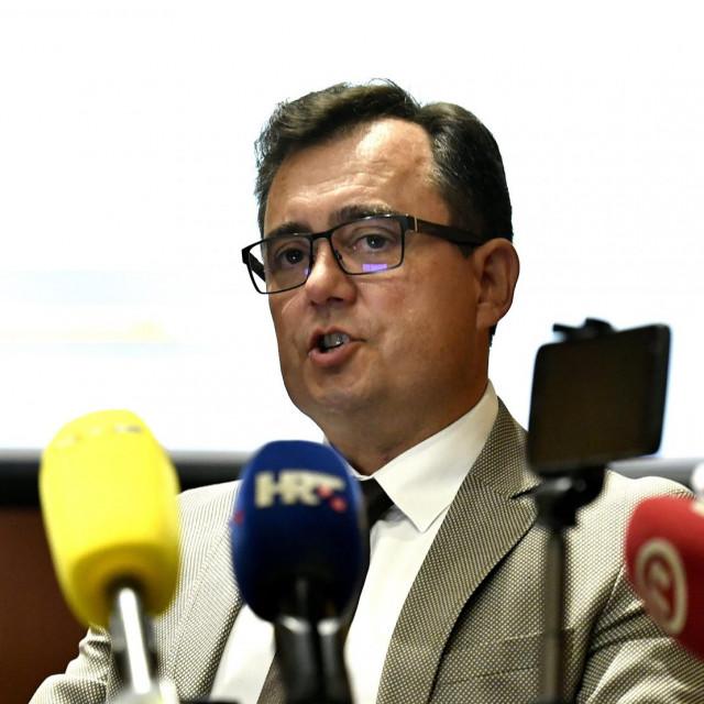 Damir Vanđelić na predstavljanju projekta obnove Zagreba