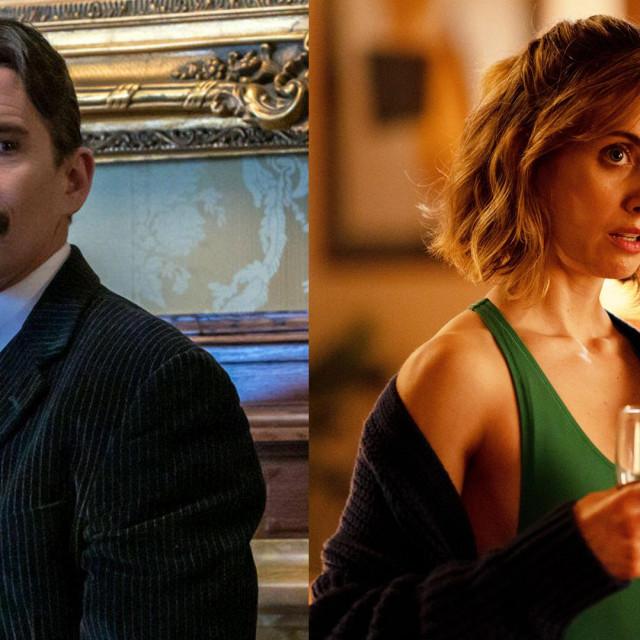 "Ethan Hawke u filmu ""Tesla""; Alison Brie u filmu ""Kuća straha"""