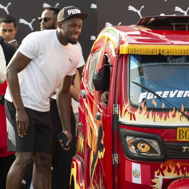 Usain Bolt - već neko vrijeme umirovljen, ali još uvijek drži svjetski rekord na 100 m
