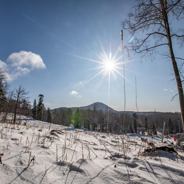 Ilustracija, snijeg
