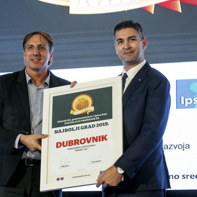 Prošle godine Dubrovnik je pobijedio u kategoriji Smart Cityja, a nagrada je uručena gradonačelniku Mati Frankoviću