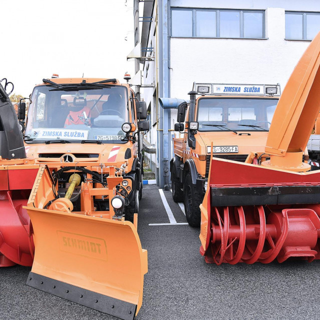 Svečana smotra vozila i opreme Zimske sluzbe