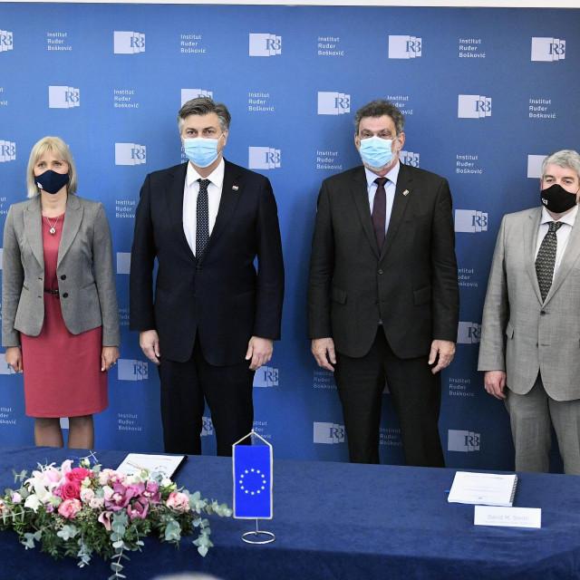 Tomislav Petrić, Ivanka Jerić, Andrej Plenković, Radovan Fuchs, David M. Smith