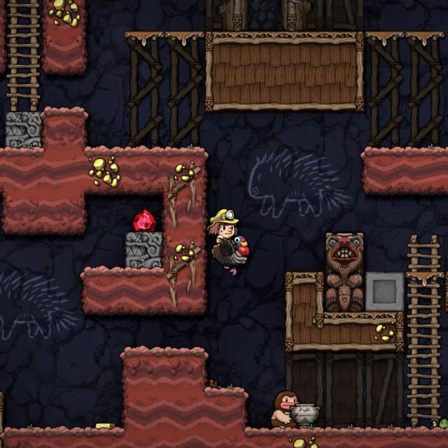Prizor iz igre Spelunky 2