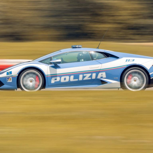 Policijski Lamborghini