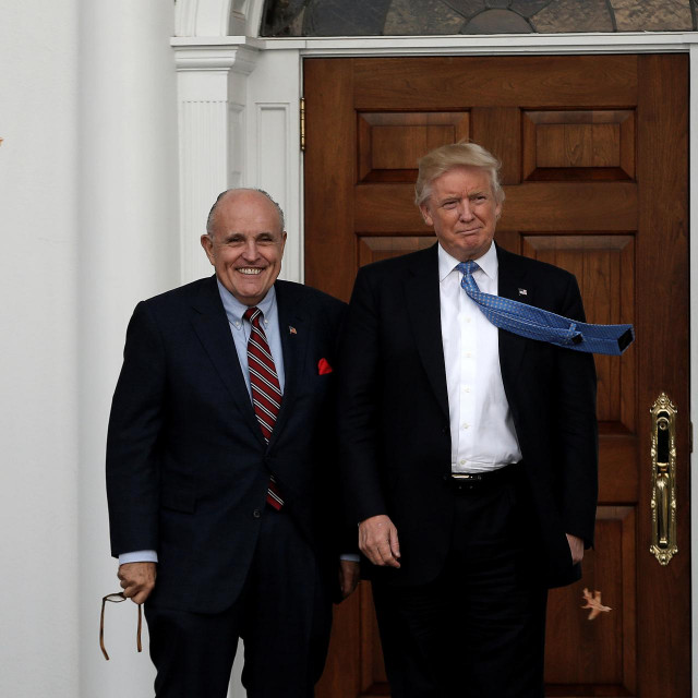 Donald Trump i Rudolph Giuliani