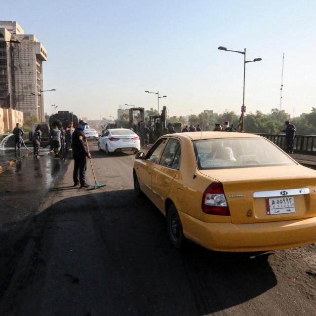 Baghdad, ilustracija
