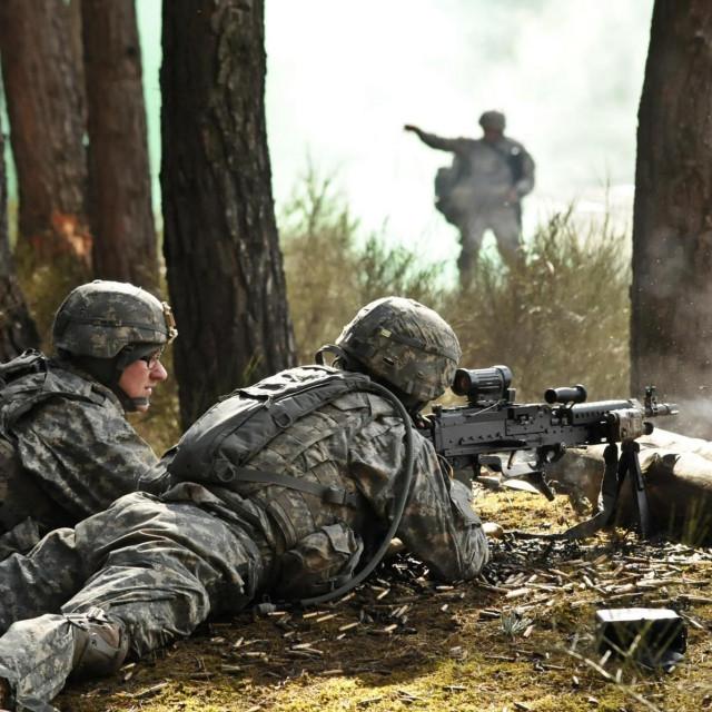 Ilustracija, vojnici