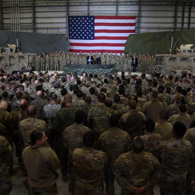 Trump u Afganistanu na Dan zahvalnosti 2019.