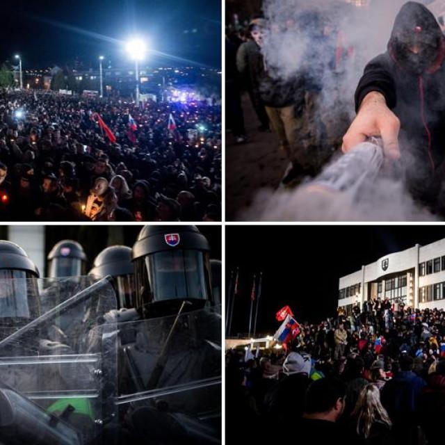 Prosvjedi u Slovačkoj