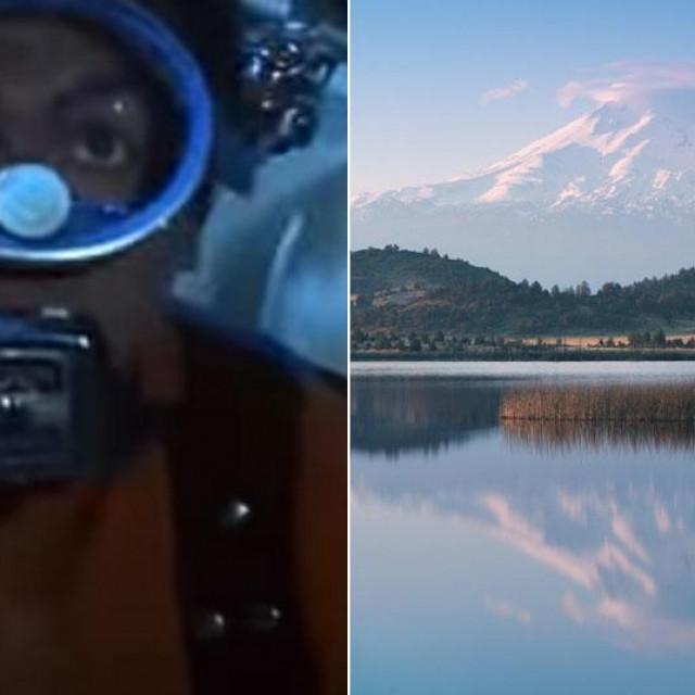 Scena iz Thunderballa; Jezero Shasta