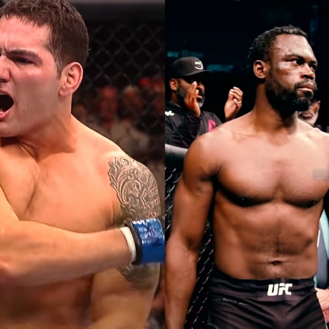 Chris Weidman i Uriah Hall