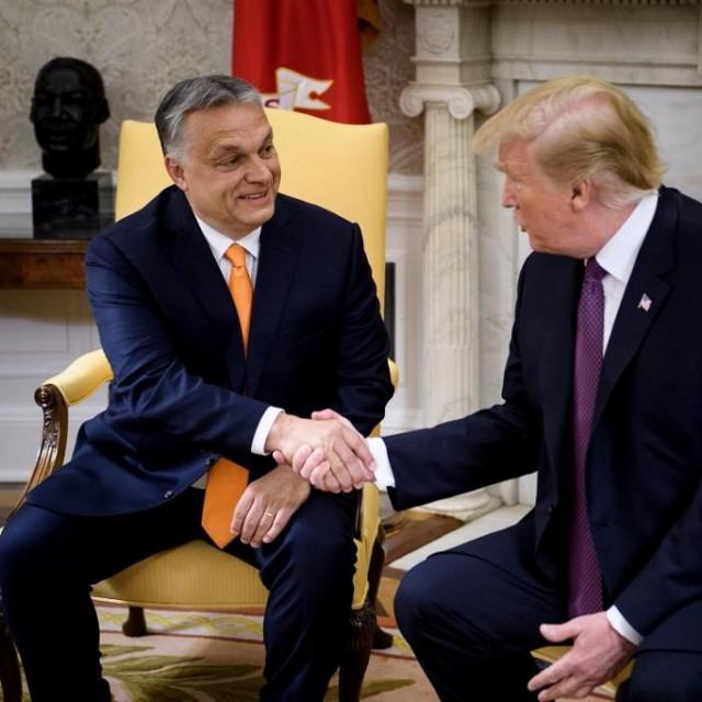 Viktor Orban i Donald Trump