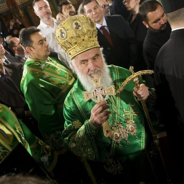 Srpski patrijarh Irinej