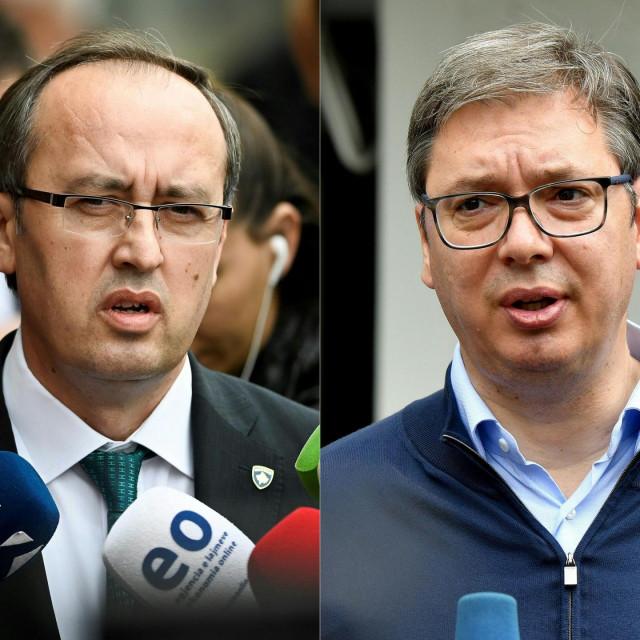 Avdullah Hoti i Aleksandar Vučić