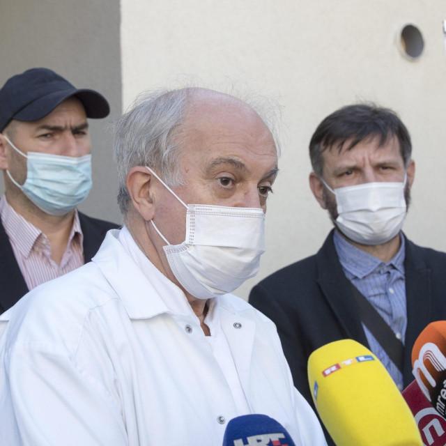 Ivo Ivić,predstojnik Klinike za infektologiju KBC-a Split