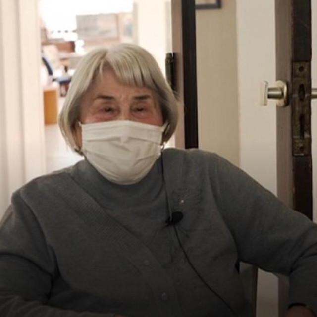 Antonija Čulinović, štićenica Doma za starije osobe Trnje