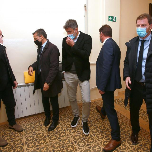 Zoran Mamić i Mario Mamić s odvjetnikom