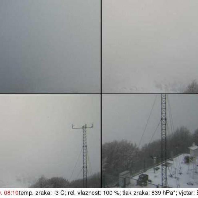 Snijeg na Zavižanu, 20.11.2020.