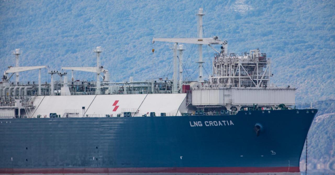Brod 'LNG Croatia' isplovio za Sagunto po ukapljeni prirodni plin za probni rad