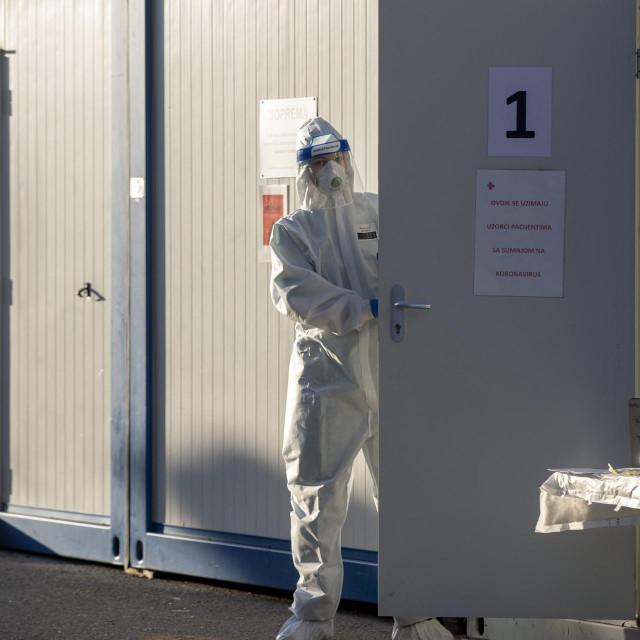 Mobilni kontejneri za prijem bolesnika u OB VaraŽdin