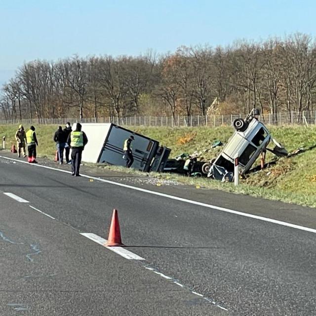Teška nesreća na autocesti A1