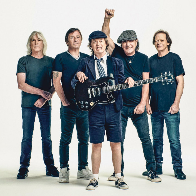 AC/DC press shot