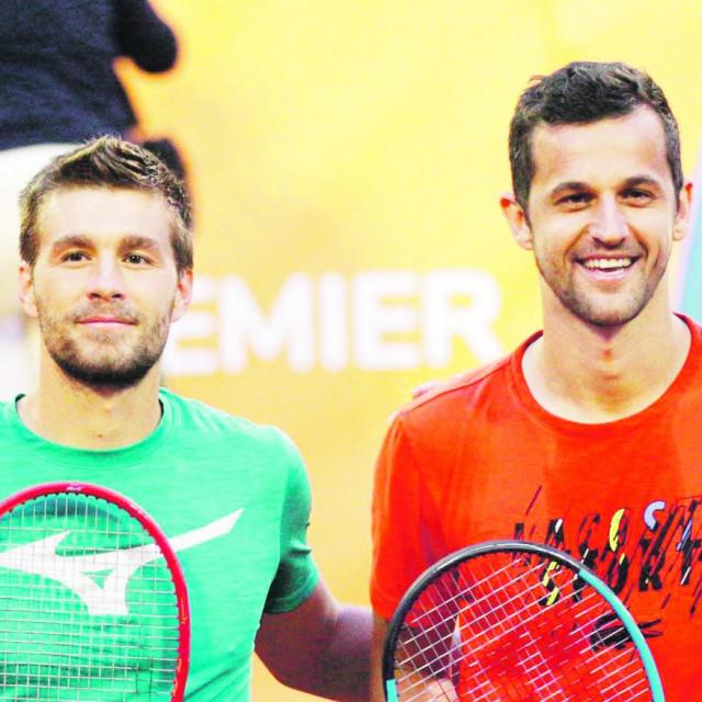 Mektić i Pavić počinju zajedničku suradnju na Touru