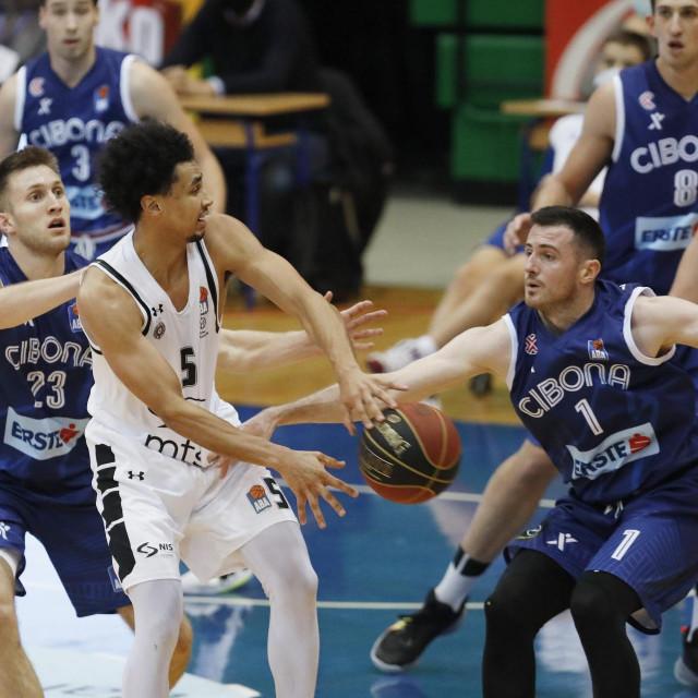 Cibona je u prošlom kolu izgubila doma od Partizana