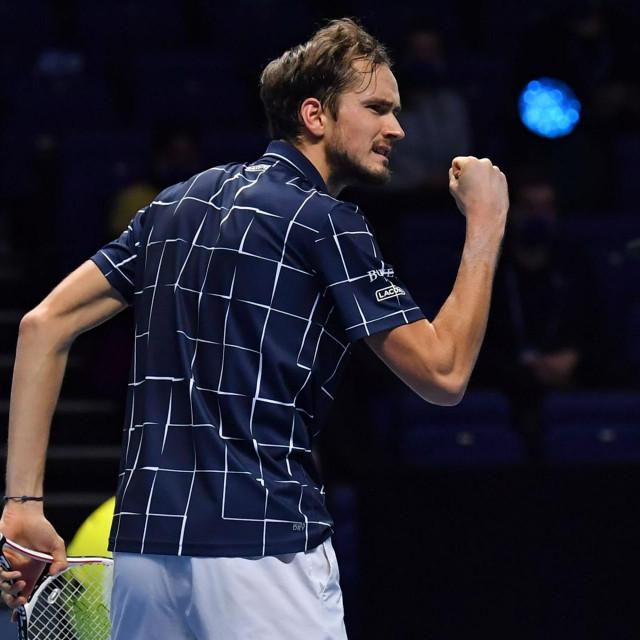 Daniil Medvedev zasluženo je osvojio završni ATP Finals