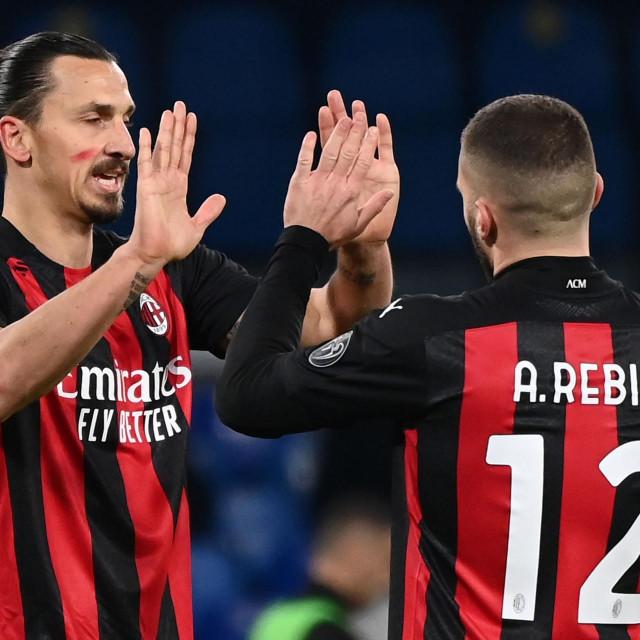 Odlična suradnja Ibrahimovića i Rebića