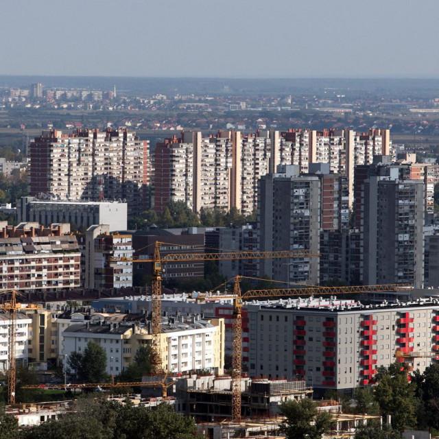 Ilustracija, panorama Zagreba