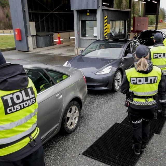 Granični prijelaz Norveške i Švedske