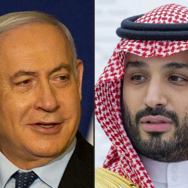 Benjamin Netanyahu i Mohammed bin Salman