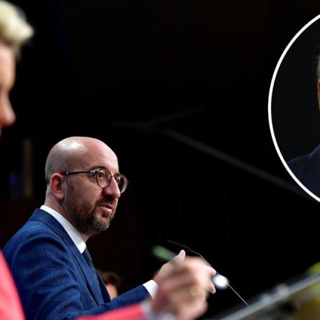 Charles Michel, Ursula von der Leyen i Joe Biden