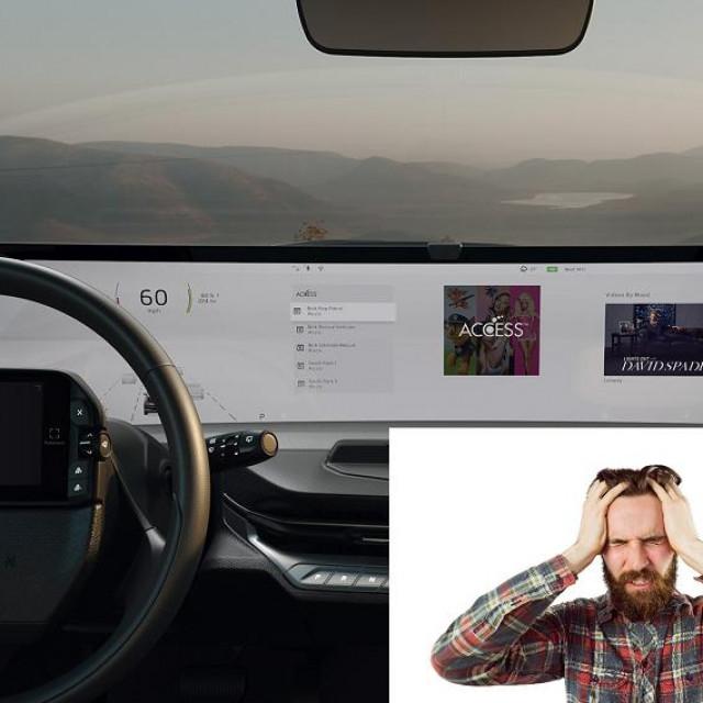 Infotainment u autu