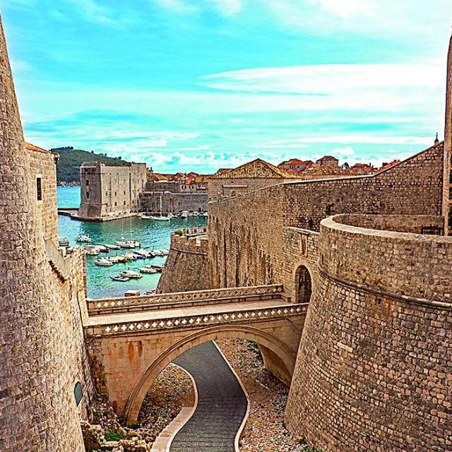 """Dubrovnik je """"glumio"""" Kraljev grudobran u seriji Igra prijestolja"""