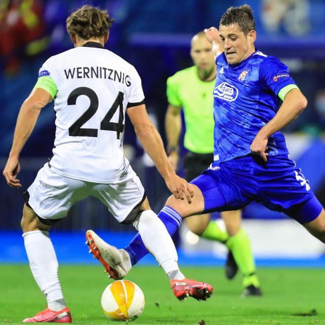 Christopher Wernitznig u duelu protiv Ademija